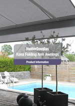 Kona Folding Arm Awnings Brochure - East Coast Awnings and Blinds servicing Brisbane, Bayside area, Logan, Redlands